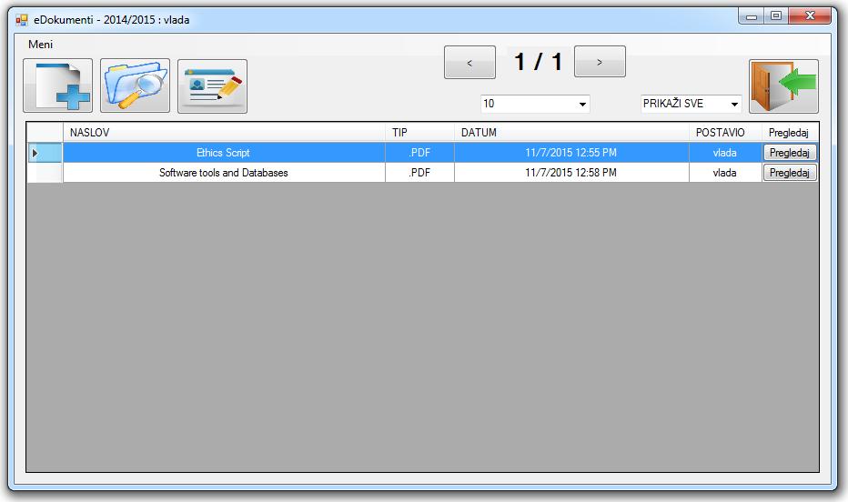 eDocuments Management system