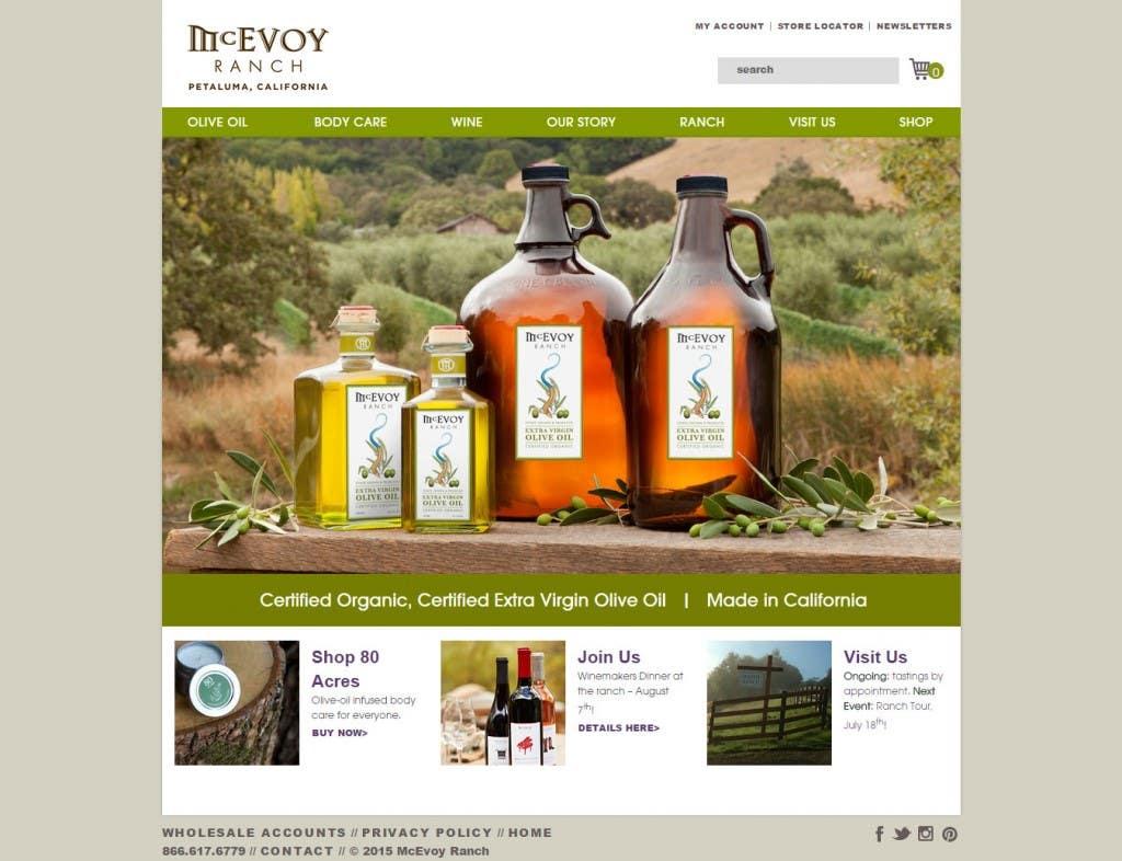 McEvoyRanc Magento Website