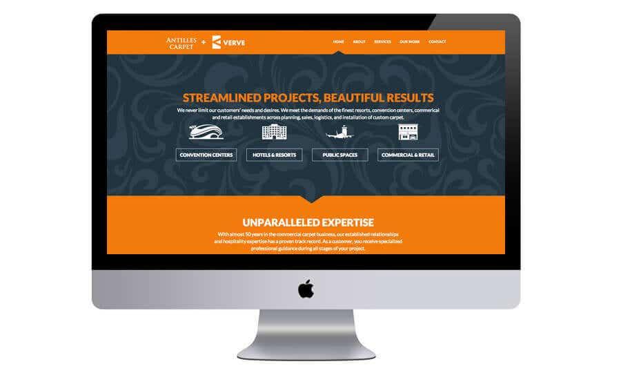 Antilles Website By CodeWolves