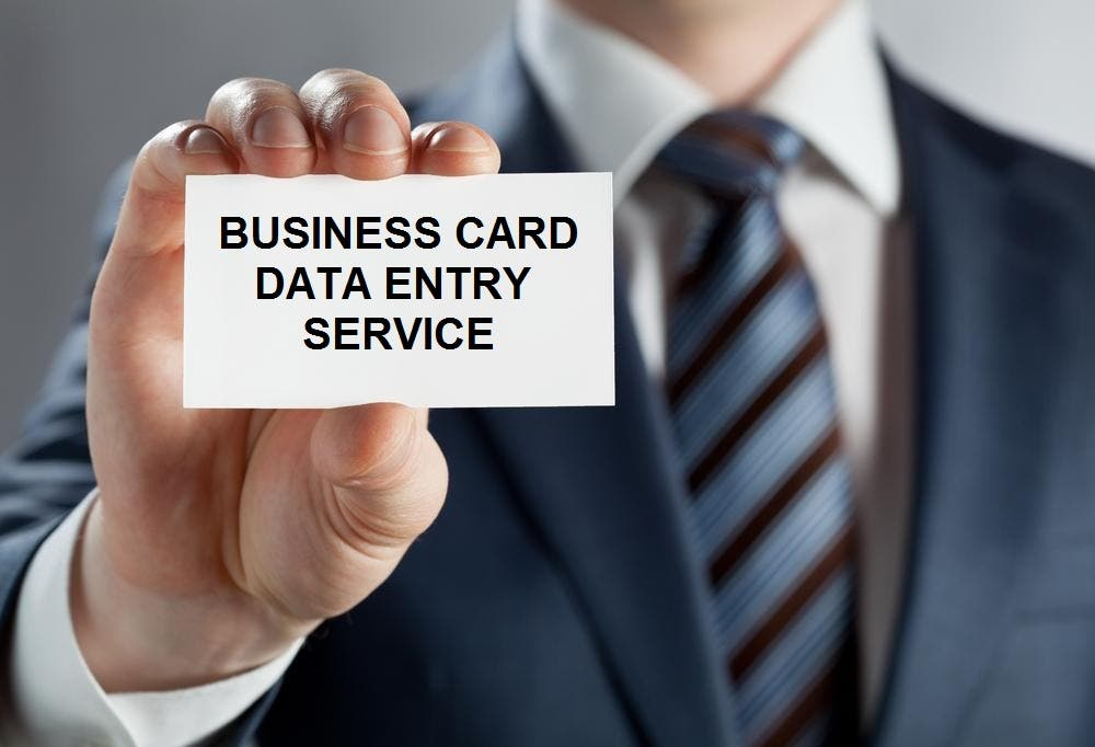 Business Card Data Entry Service