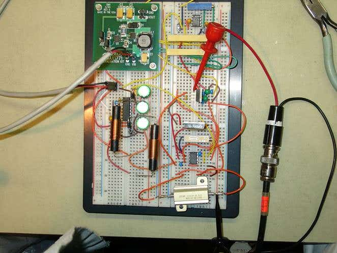 Electrical circuit design sample