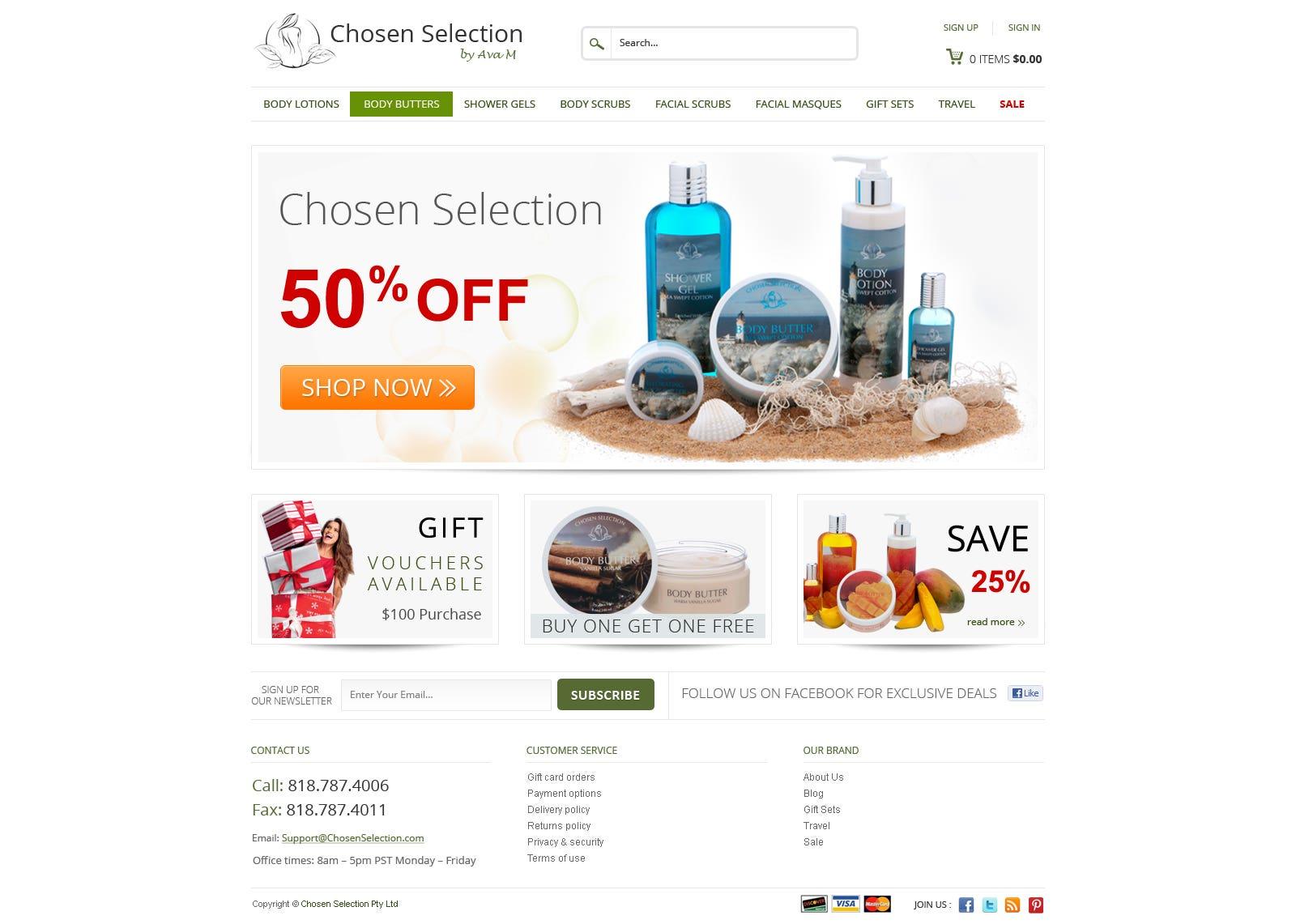 Ecommerse website based on wordpress