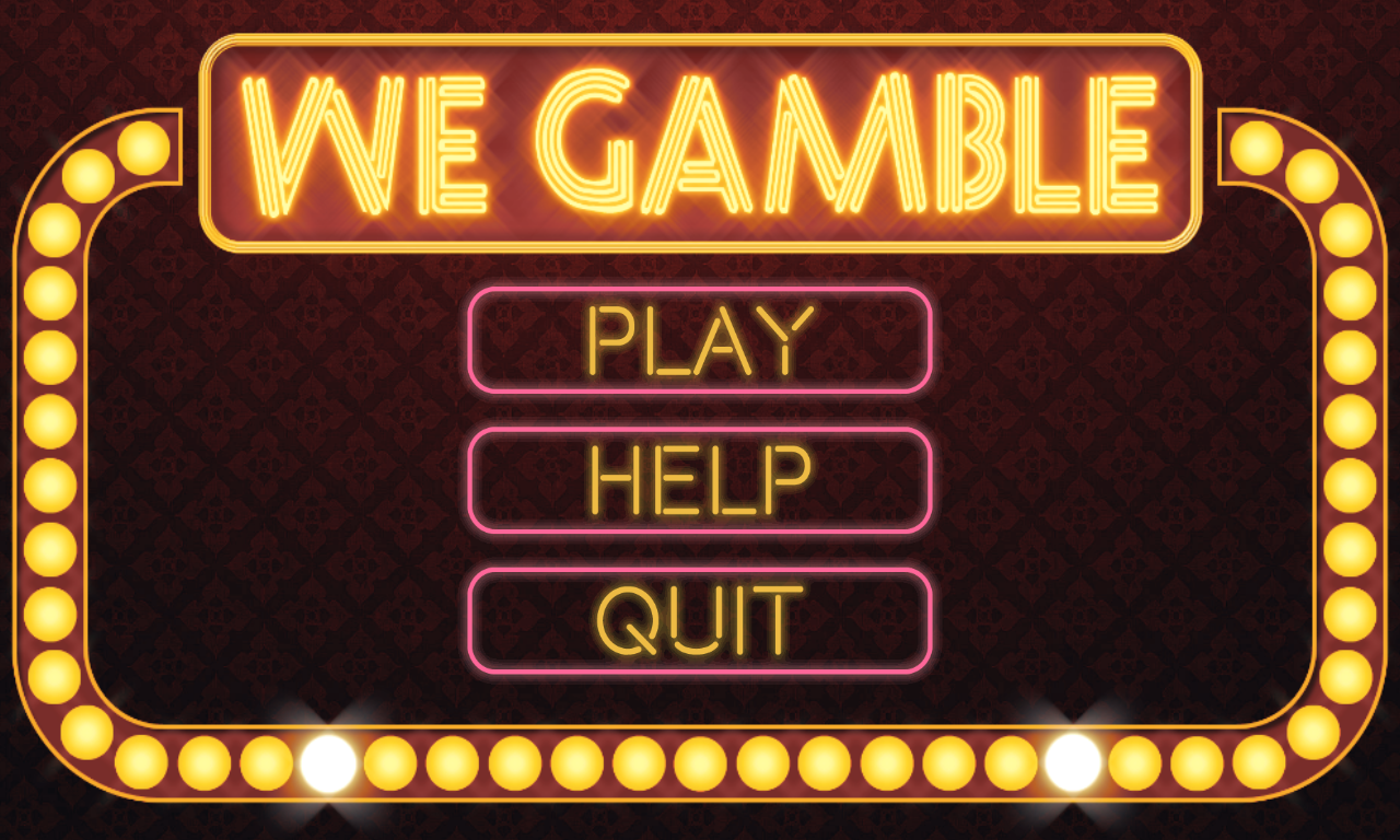 WeGamble - Android Game