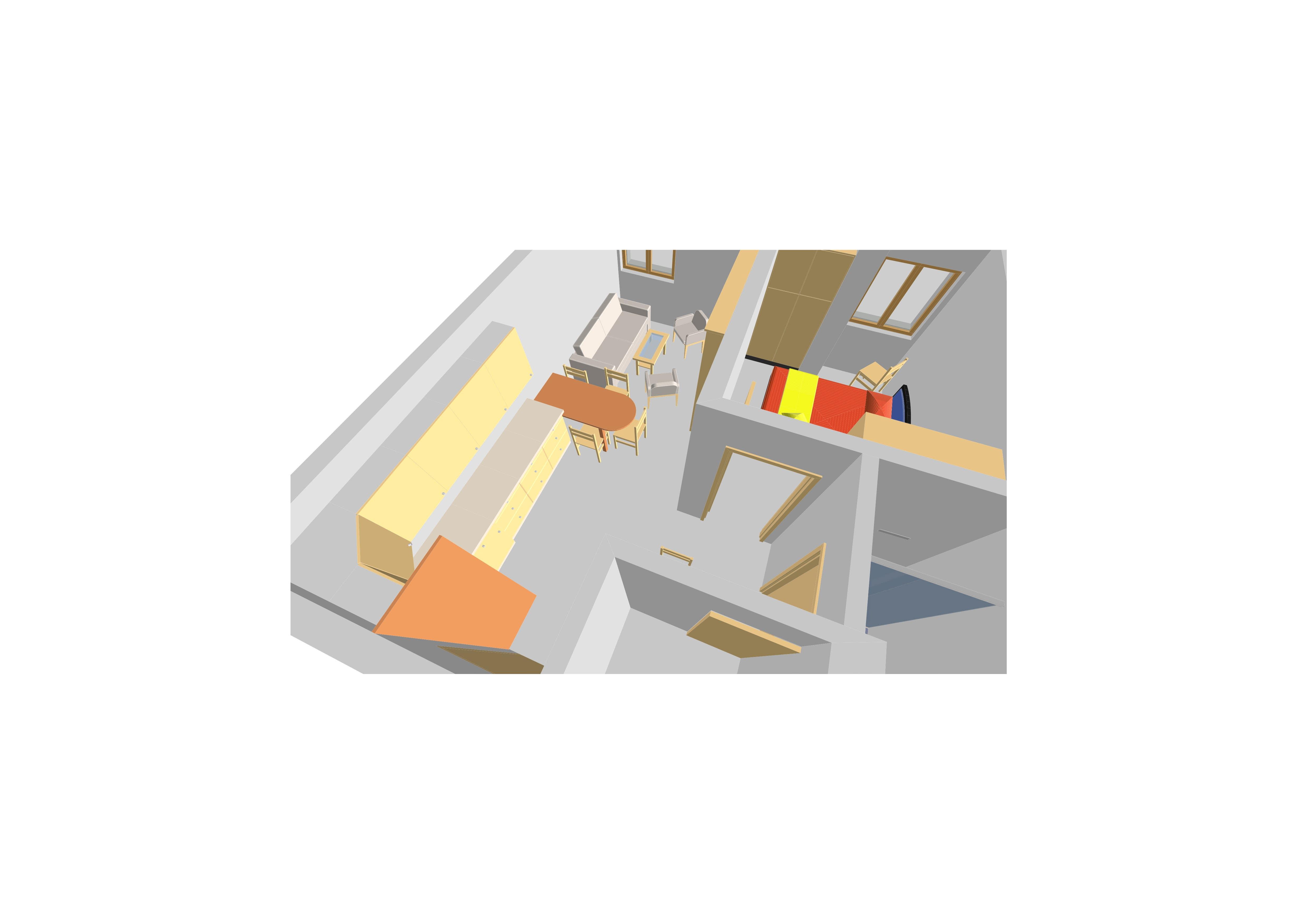 design of a flat