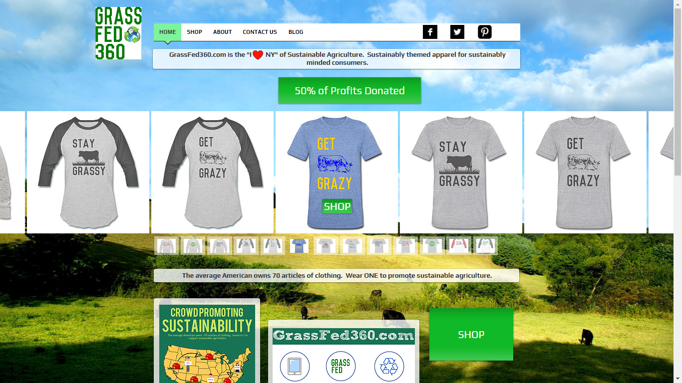 t-shirts Website based on Spreadshirt API