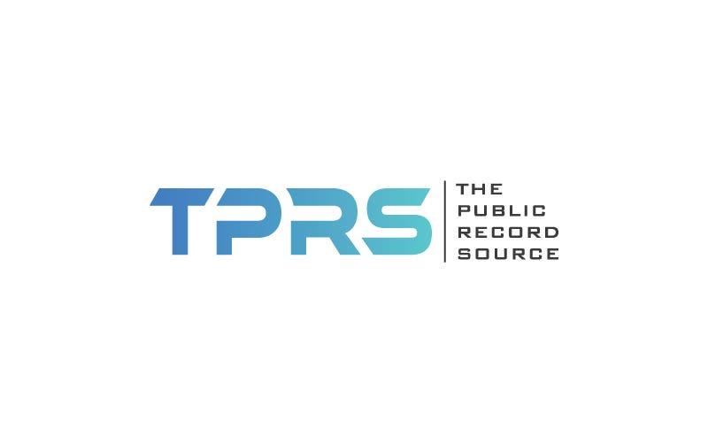 Logo Design for TPRS (The Public Record Source)
