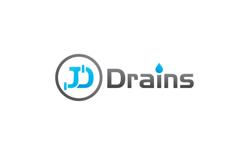 logo design for JD DRAINS
