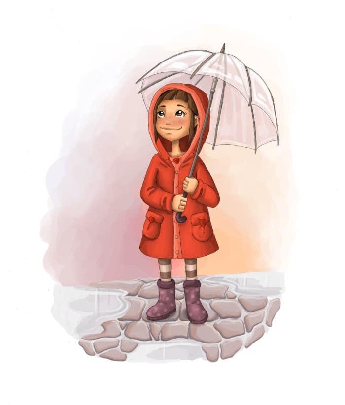 Rainy day - Illustration