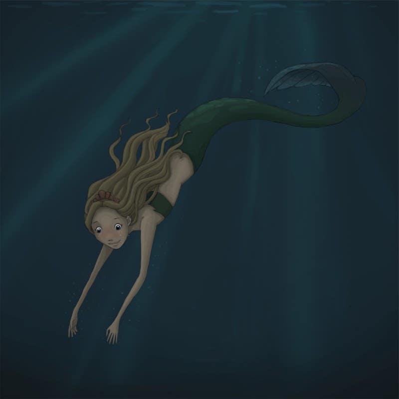 Mermaid - Illustration