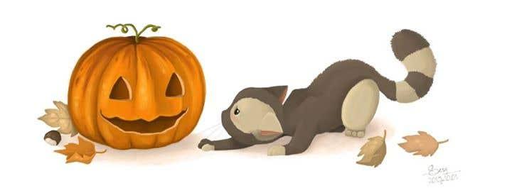 Halloween Cat - Illustration