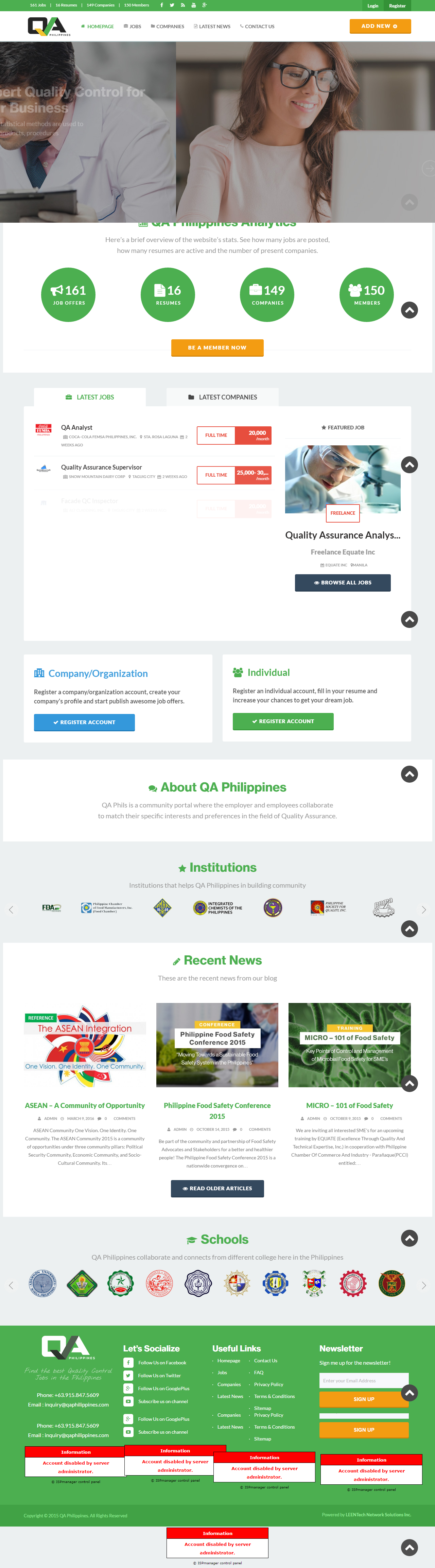 QA Philippines - Educational Portal for Philippines