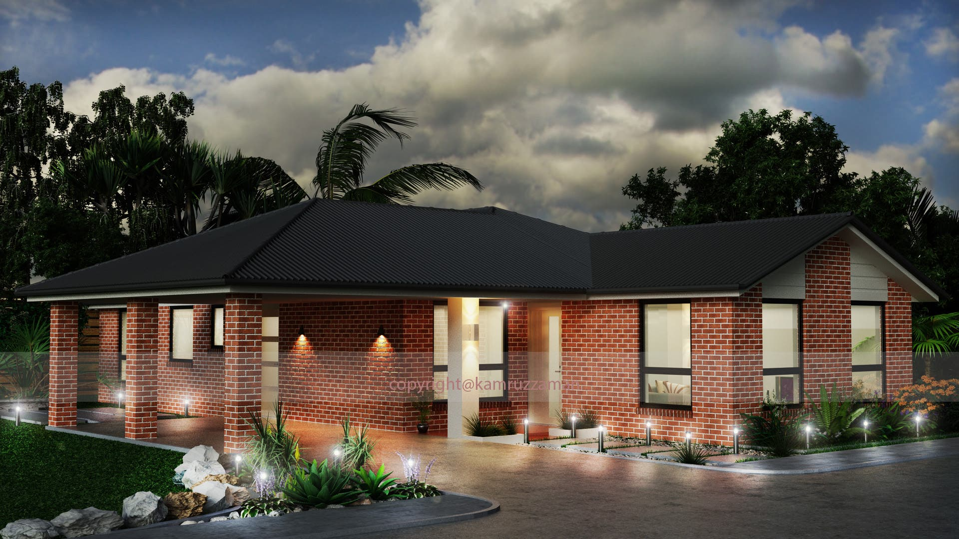 3D Exterior Design and Rendering for Aussie Client.
