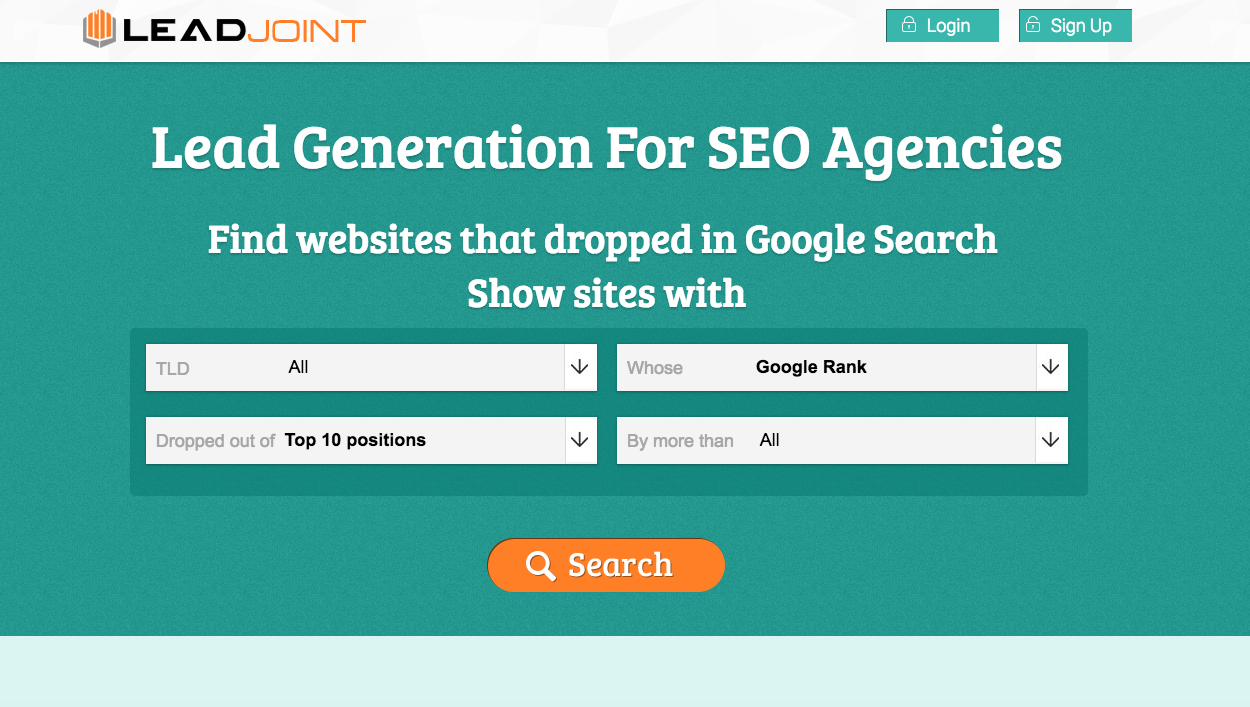 Automated Lead Generation Portal