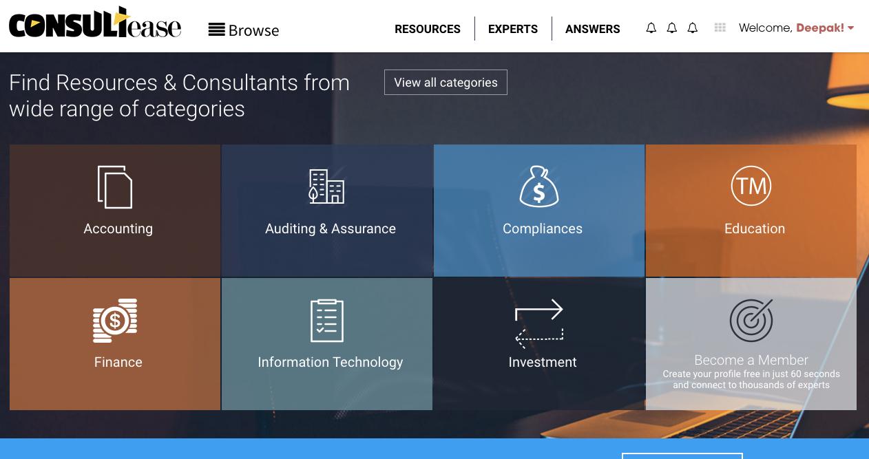 Consultants Branding & Lead Generation Portal