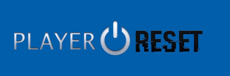 Player Reset - Creación de logotipo para blog de videojuegos
