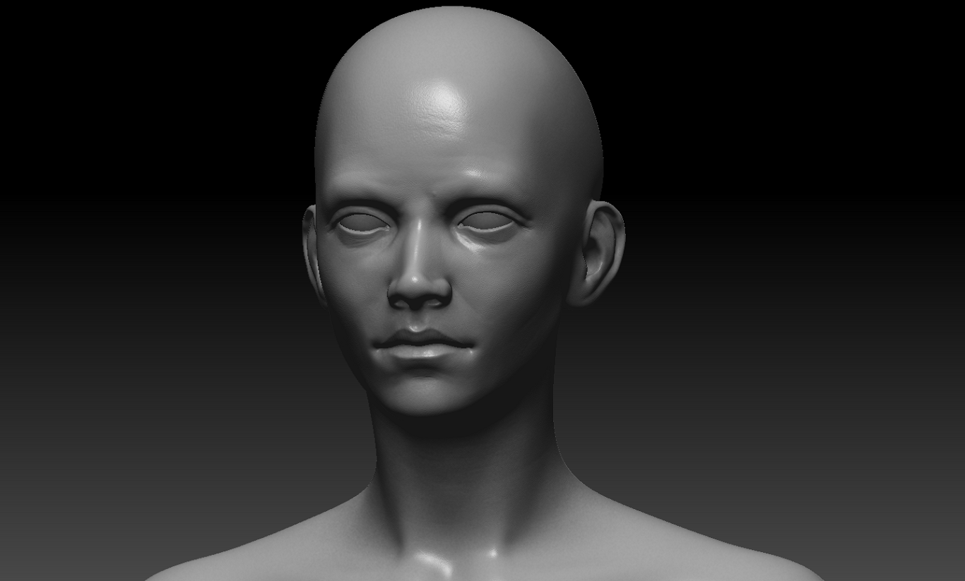 Head Sculpt Work in Progress