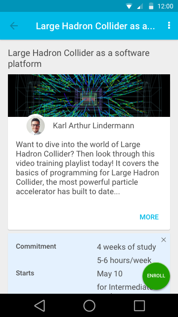 Large Hadron Collider as software platform