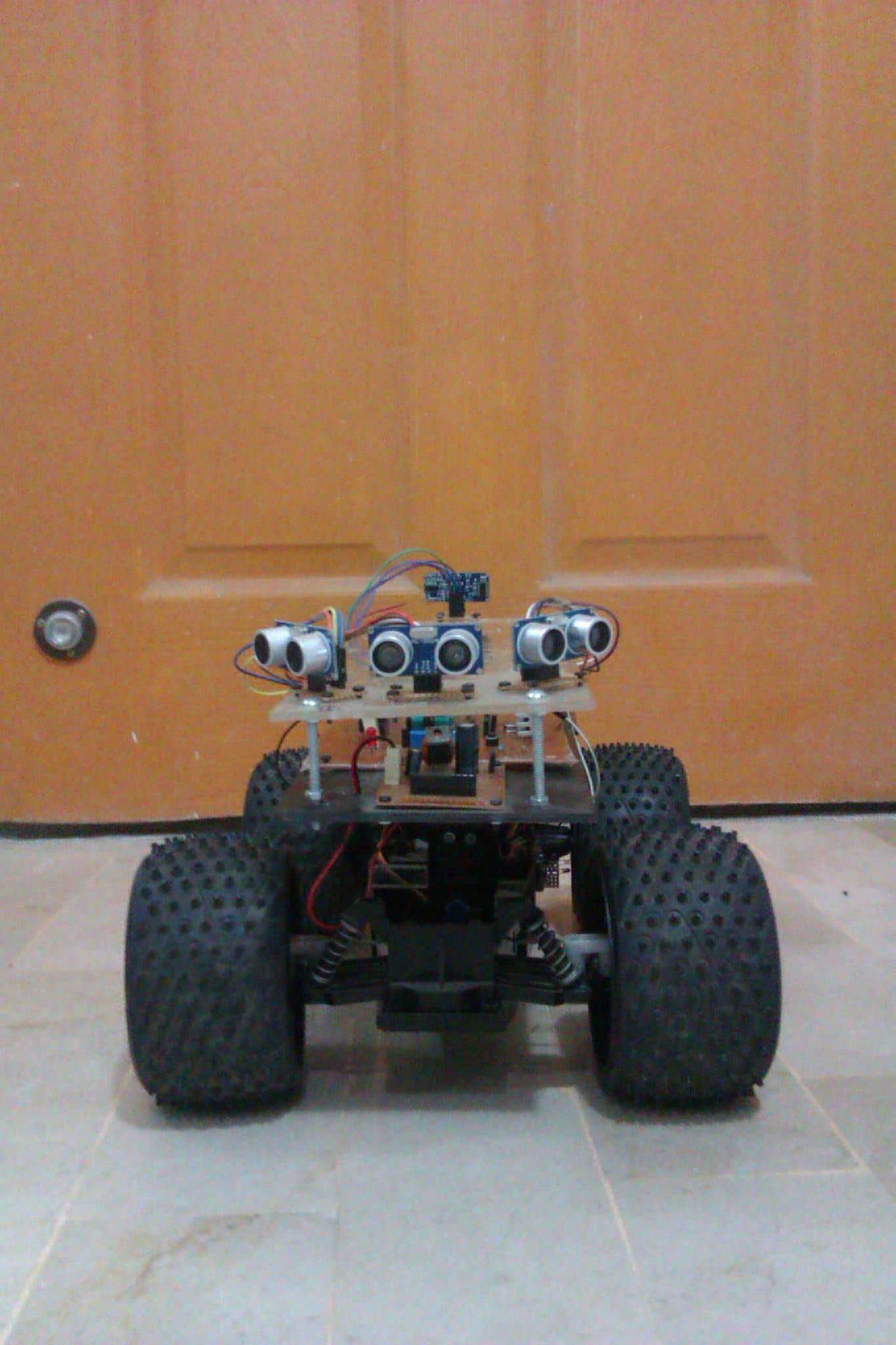 Autonomous Surveillance Vehicle