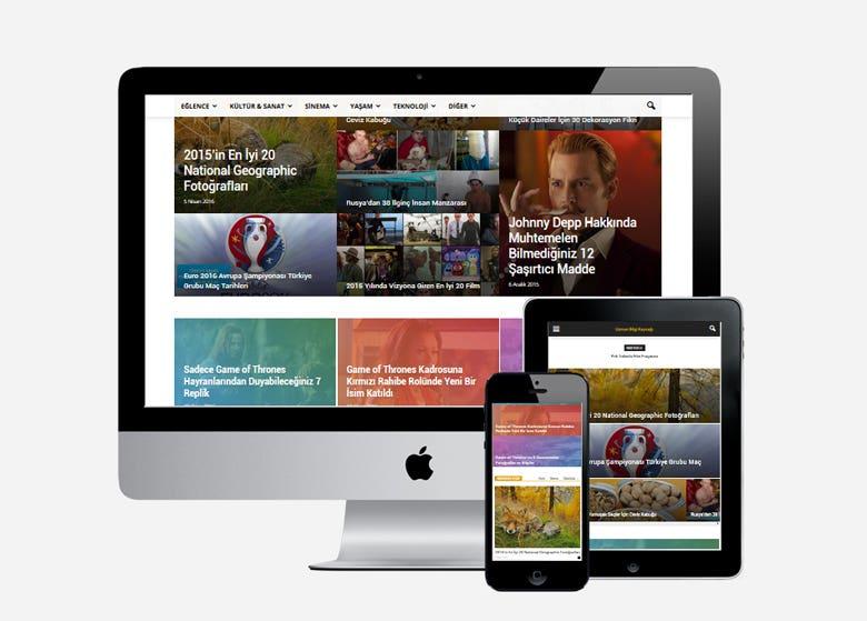 #UzmanBilgi - A Wordpress Development & Design