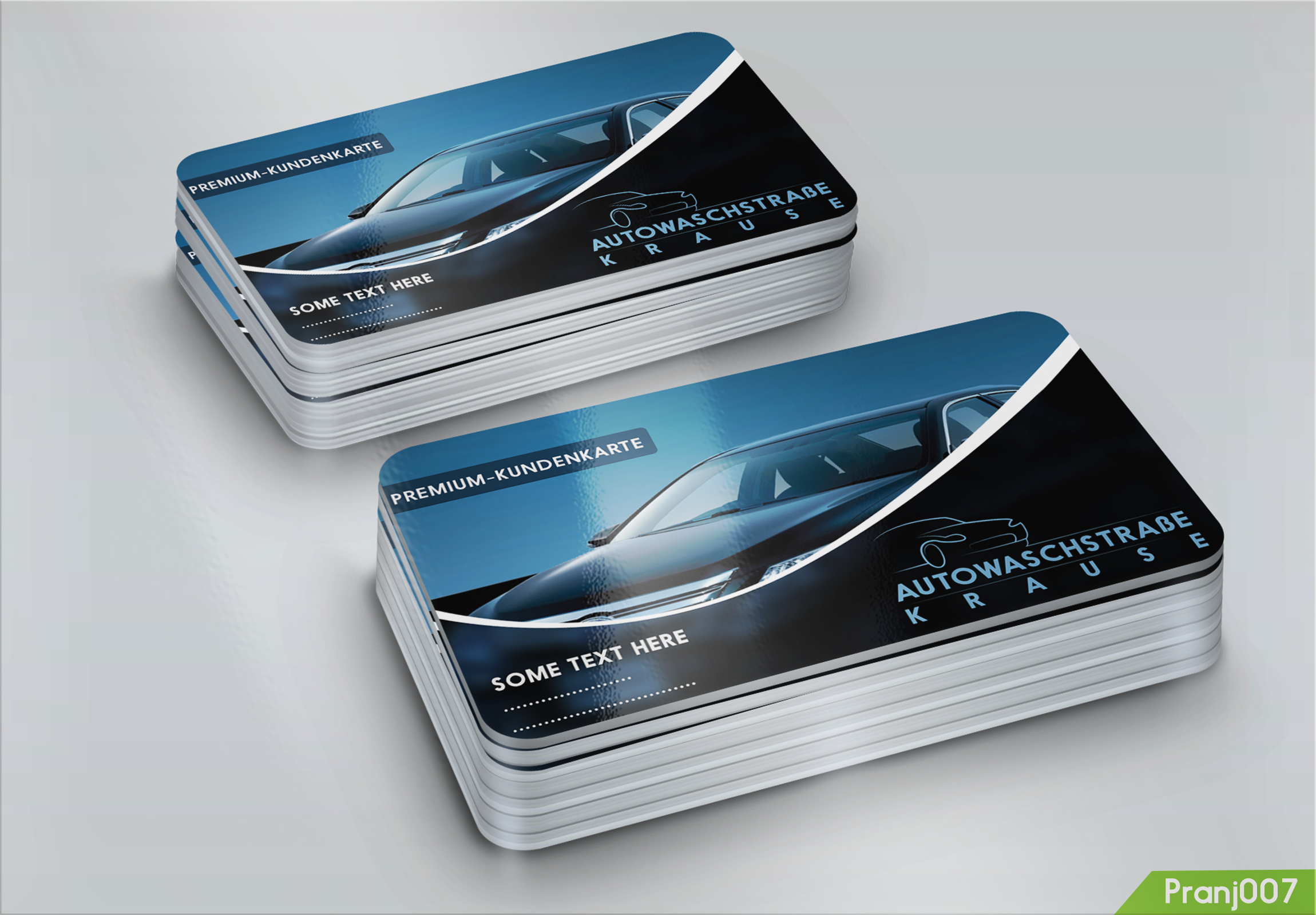 Customer Cards Design