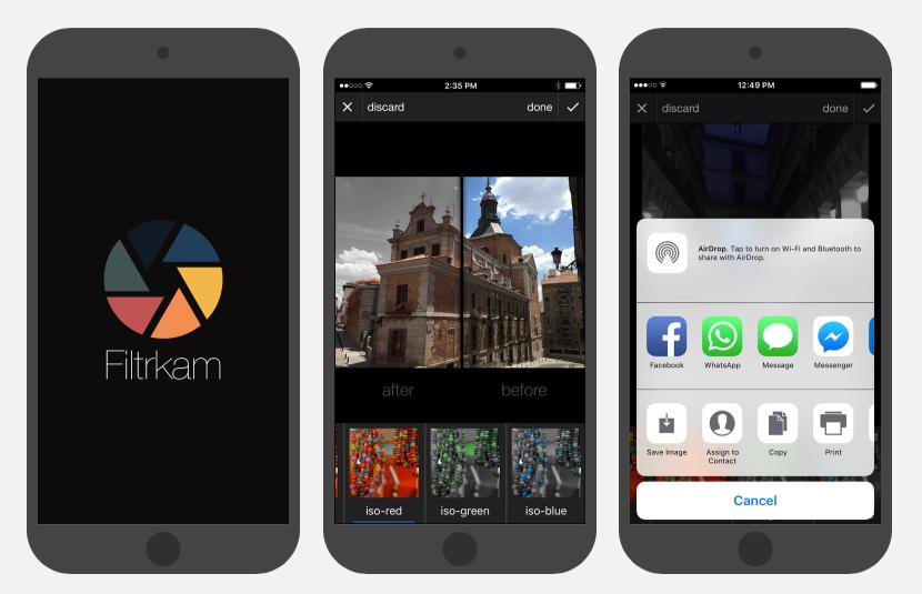 Filtrkam iOS App