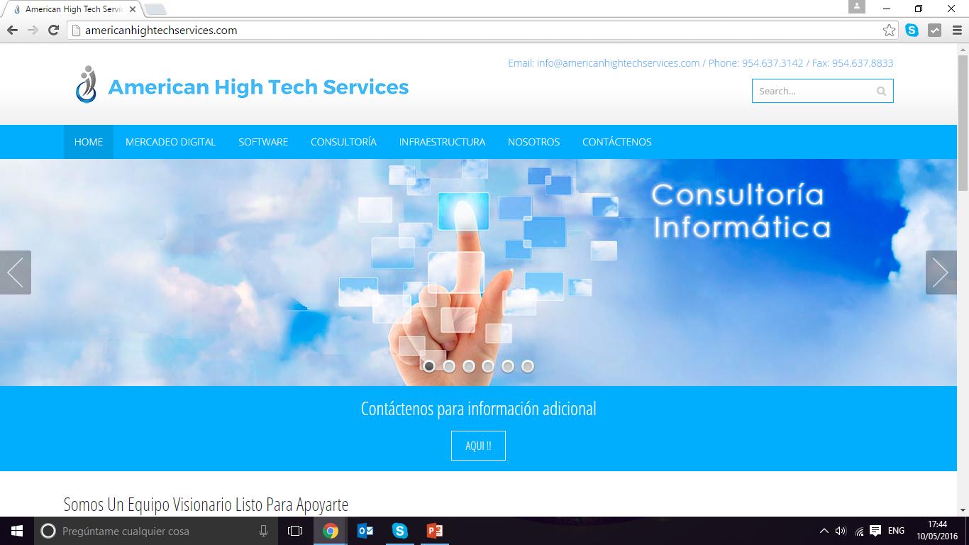 Corporate Website - Spanish version