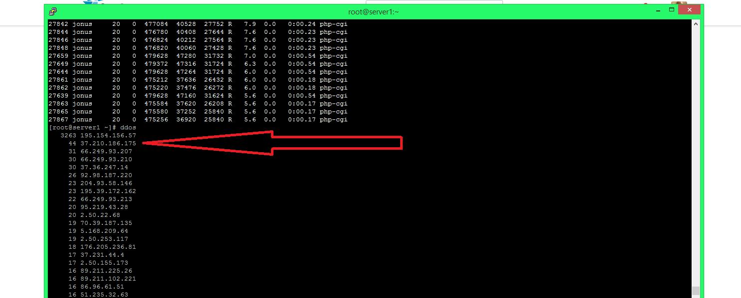 DDoS Attack Resolved