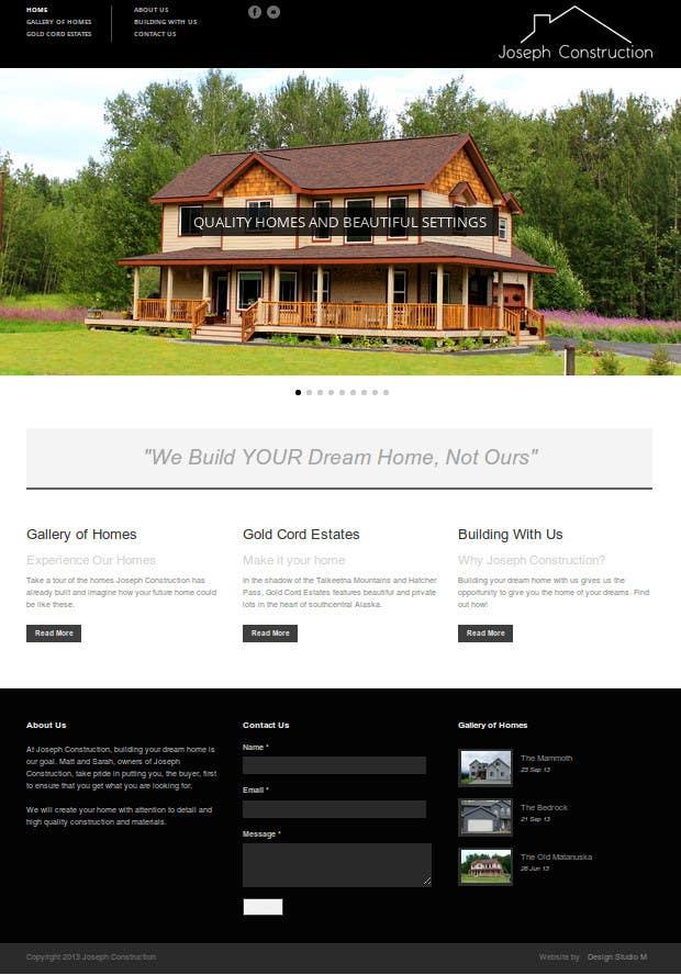 Joseph Construction Website