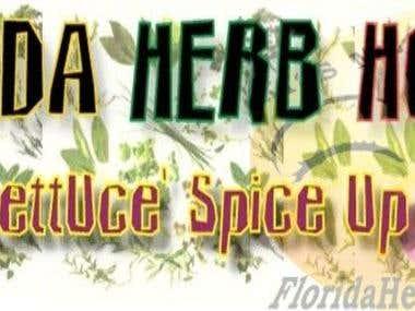 Founder & Web Design For www.FloridaHerbHouse.com