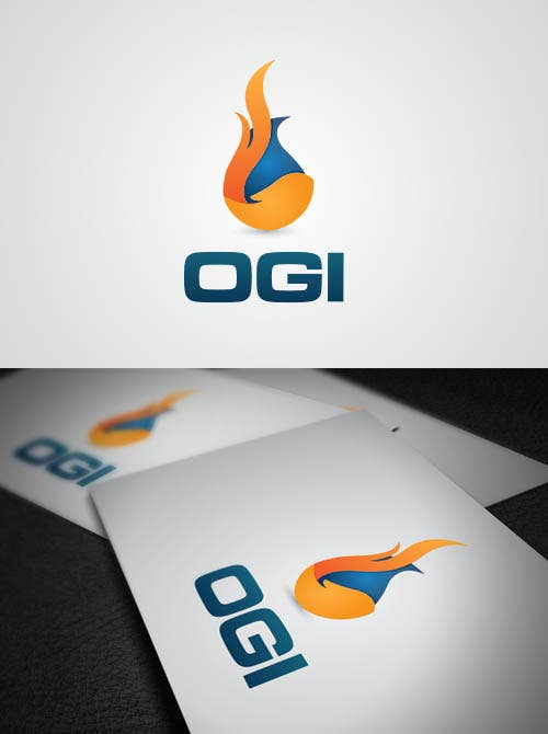 OIL AND FIRE LOGO
