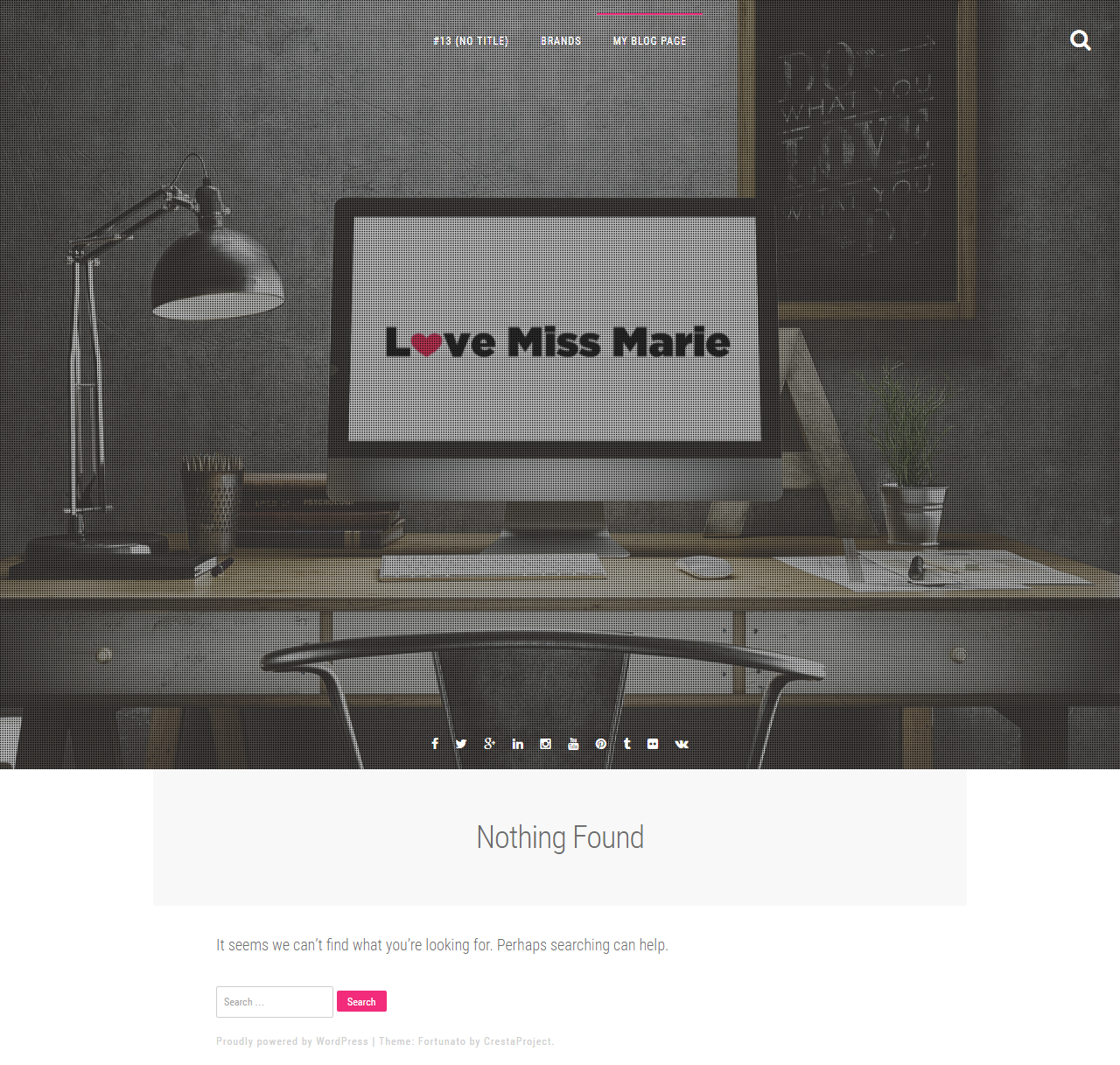 LOVE MISS MARIE [Responsive]