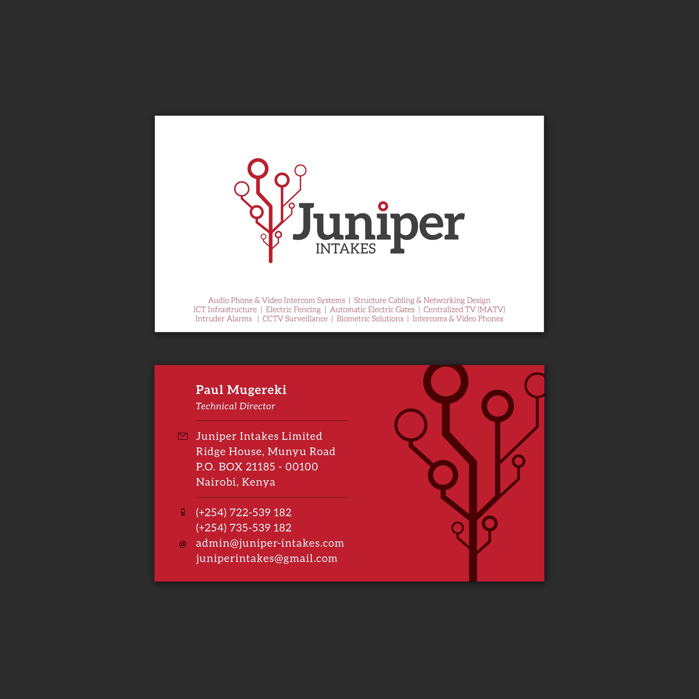Juniper Intakes Coporate Identity