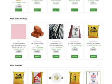 Wordpress|Woocommerce website