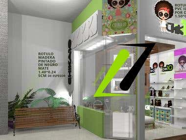 Retail Space (design+ execution)
