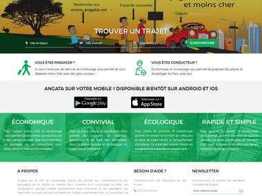 Angata.ml Site de covoiturage au Mali