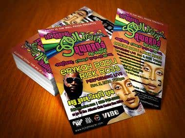 SoulTrain flyer featuring Rick Ross