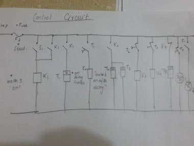 POWER AND CONTROL CIRCUIT
