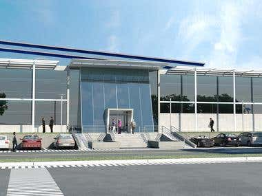 "3D exterior ""Warehouse"""