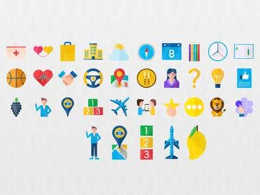 Material Style Icons