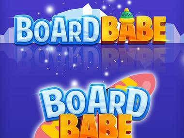 Board Babe Game Logo