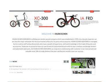 Huan Schen Sdn Bhd   The Trusted Name for all your Biking Ne