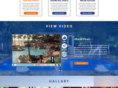 website design for aquaticastudio