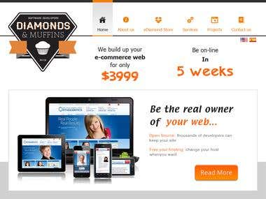 Diamonds and Muffins : wordpress