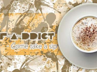 Caf-a-ddict (Coffee addict)