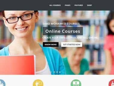 Online Course Site