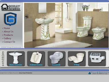 Ceramics Business Website