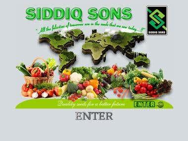 Seeds Business Website