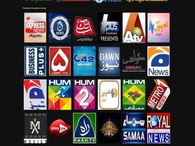 Online TV Channels website