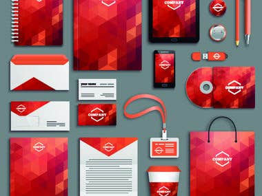 Brand design and packages
