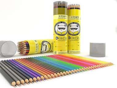 pencil and sharpner